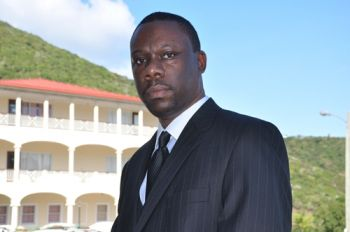 Attorney at Law Jamal S. Smith believes that the time has come for the territory to advance in the registration of trade marks (TMs) for goods and services now that the 2013 legislation dealing with registration of trade marks is to be implemented come September 1, 2015. Photo: Provided