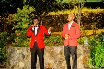 Mr David D. Archer and Mr Julien N. Johnson were the MCs for the night. Photo: Provided