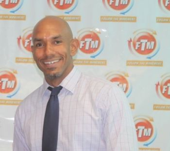 Director of Public Relations, Rotary Club of Tortola, Julien N. Johnson. Photo: VINO