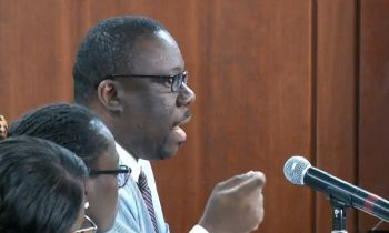 Local Attorney Mr Jamal S. Smith said he couldn't understand the 'strange urgency' by the Government of the Virgin Islands to give status to expats and also wanted to know whether the Attorney General, Mr Baba F. Aziz was involved as he wanted to know whether the 'fast track initiative' was breaching the constitution of the Virgin Islands. Photo: Facebook
