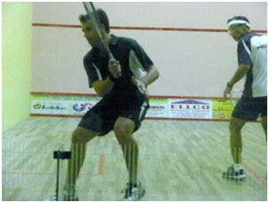 Squash player Joe Kneipp whose event starts on November 23, 2014. Photo: Provided