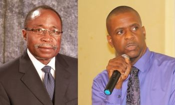 Both Chairman of the VIP Hon Julian Fraser RA and senior member of VIP Hon Andrew A. Fahie are in support of further discussions on the decriminalizing of medical marijuana. Photo: VINO/File