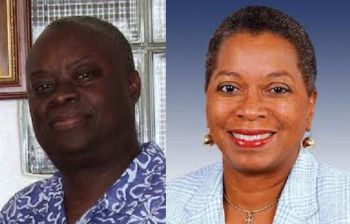 According to a report carried on the St Thomas Source news site today November 5, 2014, Independents Kenneth E. Mapp (left) and Osbert Potter were ahead of the Democratic Party team of Donna M. Christensen (right) and Basil C. Ottley in the United States Virgin Islands (USVI) Governor's race as of 2 a.m. today. Photo: Internet source