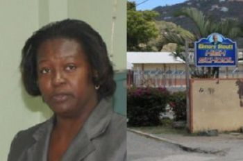 Ms. Mellissa Amey is the substantive holder of the post of Principal of the Elmore Stoutt High School, the largest secondary school in the Virgin Islands. The school is now on its second Acting principal in less than three years since Ms. Amey proceeded on study leave. Photo: VINO/File