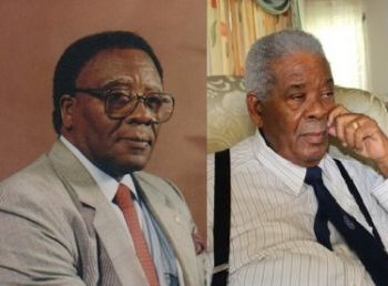 While some are suddenly claiming that the next Premier should be an At-Large Representative history will show that the greatest contributions to the development, growth, progress and prosperity of the Virgin Islands have come from Chief Ministers/Premier who came from a District. A proven example is late Chief Minister H. Lavity Stoutt (R1) (left) and Former Premier Honourable Ralph T. O'Neal OBE (R9). Photo: VINO/File