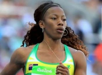 Ashley N. Kelly will be running the 400m semi finals tomorrow Monday August 7, 2017. Photo: Provided