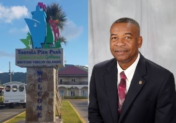 Mr Vance M. Lewis, right, has been favoured by the National Democratic Party (NDP) Government to take over as Chief Executive Officer (CEO) of Tortola Pier Park Limited by the start of February 2018, according to information reaching this news site. Photo: VINO/Facebook