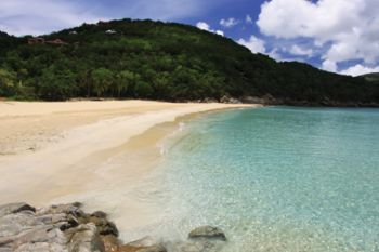 Police and VISAR are investigating a possible drowning today March 3, 2014 at Little Bay, Tortola. Photo: bviguides.com