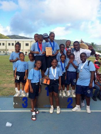 Leonora Delville (in photo) were second on 268 while Ivan Dawson Primary School were third with 257 points. Photo: Provided