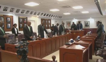 Speaker of the House of Assembly, Honourable Julian Willock believes Members of the House of Assembly (HoA) should be given the same respect as members of the judiciary. Photo: Youtube/File