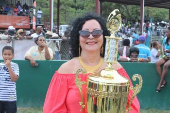 Speaking with this news site, Violet 'Letty' Hodge, owner of Buy Buy Buy, Bittersweet Dream and Doughmaker, said that all of her horses are ready to go. Photo: VINO/File