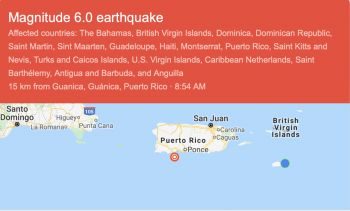 Today's latest quake, which came around 9:00 am, is said to have caused even further damage, especially in areas around the southern coast where homes and schools collapsed from the Tuesday's magnitude of 6.4. earthquake. Photo: Internet Source