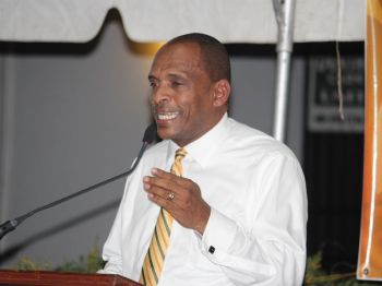 He argued that part of the problem with government's negotiations, reportedly led by Works Minister Hon. Mark H. Vanterpool (above),d with Norwegian Cruise Line (NCL) and Disney Cruise Line (DCL), and perhaps the reason that no agreement has been signed as yet, is because both companies are also looking for concessions that the territory can't seem to agree on. Photo: VINO/File