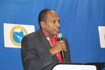 Minister for Communications and Works, Hon. Mark H. Vanterpool has revealed that government has been experiencing difficulty with the Caribbean Development Bank (CDB) loan of $15.6M which was approved in May, 2012. Photo: VINO/File