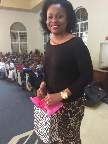 "Maryann Banton won a manicure, pedicure and a ""wash and style"" from DIVA Hair and Nail Salon. Photo: Provided"