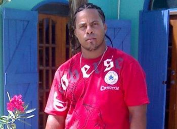 Mr Santo Yamarco Hernandez was one of three prisoners of Her Majesty's Prison in Balsum Ghut, Tortola, on the run since Hurricane Irma damaged the prison buildings on September 6, 2017. Photo: Youtube