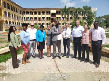 The entire project will cost some $221, 801.00 under an RDA signed contract, and this was made possible through donations from Unite BVI and BVI alliance. Photo: Provided
