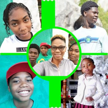 """A resident of South Valley, Virgin Gorda (VG), our Young Professional is a mother to four children; Kiara, Shemar, Jaiden and Trinice. With that same nurturing spirit, Ms Thomas says she enjoys keeping her community safe and peaceful, """"especially for our youths to live in."""" Photo: Provided"""