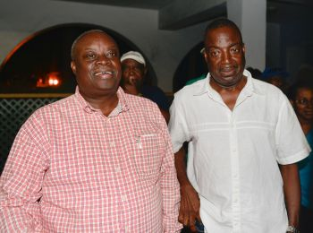 Virgin Islands News Online is the first to predict that Independent candidate for Governor Kenneth E. Mapp (left) with running mate Tortola-born Osbert Potter (right) have won the race for Governor in a landslide victory. Photo: mapp-potter.com