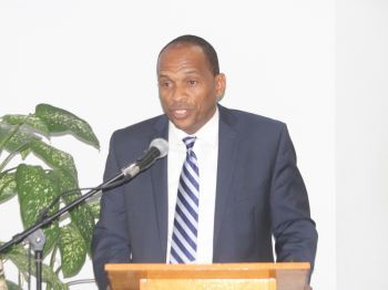 """We have great respect for audits as long as something good comes out of it,"" Hon Mark H. Vanterpool said. Photo: VINO/File"
