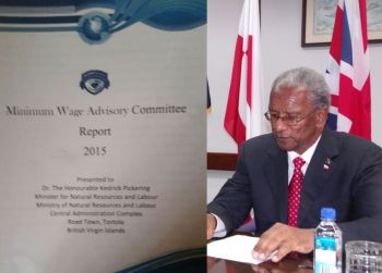 """In 2011 the National Democratic Party of Premier and Minister of Finance Dr The Honourable D. Orlando Smith was elected to office and in the two years that followed, 2012 and 2013, Premier Smith was talking up the Virgin Islands (VI) economy and claiming that it was """"robust."""" The statistics in the Minimum Wage Advisory Committee Report, however, proves that he was misleading the public. Photo: VINO/File"""