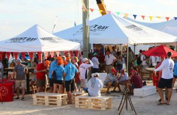 The 2019 BVI Spring Regatta and Sailing was a year to remember with festival regatta village buzzing with activity, great food & plenty of mount gay rum. Photo: BVISR