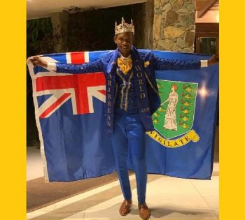Mr Caribbean 2019 Mr Yohance T. Smith is also the reigning Mr Junior BVI 2017/18. Photo: Team of Reporters