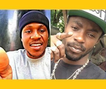 Michael Stevens, 26 (left) and Clevaughn M. Sweeney, 24 (right) were brutally murdered on Saturday, February 10, 2018 in the vicinity of the Althea Scatliffe Primary School (ASPS). Photo: Team of Reporters
