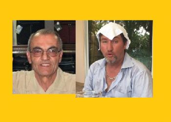 Mr Omar Tarabay (left) has alleged on Facebook that his family members were discriminated against by a customer in a local store for being Muslims. Right: Mr James De Digitus who also discriminated against the Tarabay family and Muslims on the BVi Community Board. Photo: Facebook