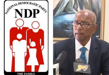 There is a division currently engulfing the National Democratic Party (NDP), where Backbenchers have become disgruntled for being excluded on important matters affecting the Territory and where Members of the NDP are in a power struggle as some seek to get rid of the old guards, including founding member and president of the party, Premier and Minister of Finance Dr The Honourable D. Orlando Smith (AL), right. Photo: VINO/File