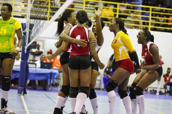 Coach of the BVI team Roy Barry cast the blame on overall poor team play. Photo: Provided