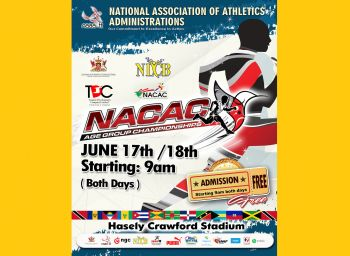 The NACAC Age Group Championships, where the Virgin Islands (UK) will be represented, will begin Saturday June 17, 2017 and conclude Sunday June 18, 2017 in Trinidad. Photo: Internet Source