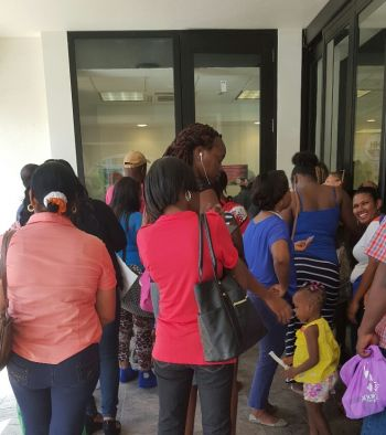 Government in late December 2015 made the decision to extend the application period to January 31, 2016 to accommodate more persons who were not successful in registering for its compulsory health coverage. Photo: VINO/File
