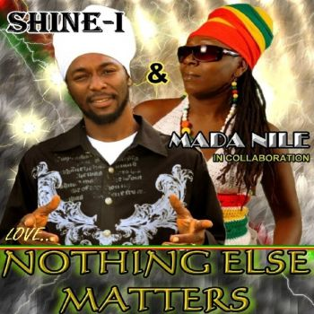 The official release cover for Shine-I's new collaboration single with Mada Nile. Photo:provided