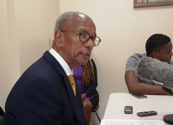 The former Premier and Minister for Finance, Dr D. Orlando Smith, selected not to run again in the 2019 General Elections. Photo: VINO/File