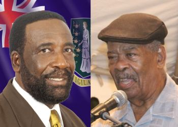 Hon J. Alvin Christopher (R2) called for an investigation into the award of contracts, alleging irregularities. Hon Ralph T. O'Neal said that he was not consulted over last minute projects in District Nine for which he is Representative. Photo: Provided/VINO