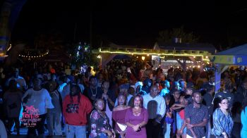 It was another huge crowd at Trellis Bay, Beef Island as many locals and visitors ushered in 2019 with fun. Photo: Provided