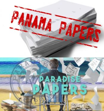 Both the Panama Papers and the Paradise Papers sought to discredit the Offshore financial services sector. Photo: Internet Source