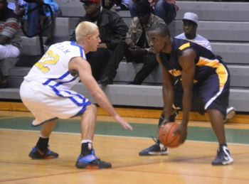 Ray Victor also had a double points night as the Warner University Royals went down 69-65 to the Bobcats as