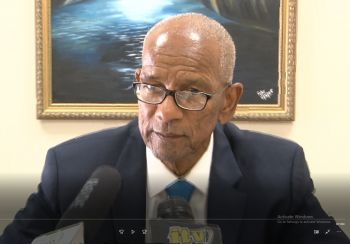 Opposition Member Honourable Julian Fraser RA (R3) has chastised Premier and Minister of Finance Dr The Honourable D. Orlando Smith (AL), in photo, for leaving during sittings of the House of Assembly to attend other functions, adding that he should be setting an example. Photo: VINO/File