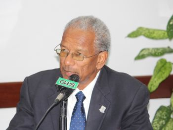 Premier Dr The Hon. D. Orlando Smith said he will travel to Brazil with Chairman of the BVI Tourist Board, Russell Harrigan and Worldwide Marketing Consultant Nerdin St. Rose to further assert the VI's presence in the Brazilian market. Photo: VINO/File