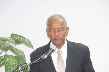 Premier Dr The Hon. D. Orlando Smith, previously expressed agreement that the minimum wage of the Territory should be reviewed but has given no commitment to when this issue would be addressed by his government. Photo: VINO/File