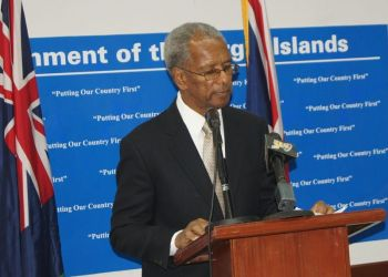 """We are at a crossroads now with our economy, our economy has been slipping since the November 2011 elections which brought the government of Dr The Hon. D. Orlando Smith into office and saw them slash public servants' increments in half,"" he argued. Photo: VINO/File"