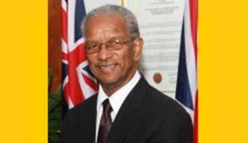 Premier and Minister of Finance Dr the Honourable D. Orlando Smith has been said to be having a strong relationship with the powers that be in the UK. Photo: VINO/file