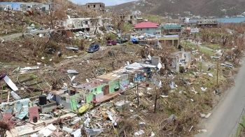 Both of the devastating hurricanes Irma and Maria that struck the territory in 2017, came in the month of September. Photo: VINO/File