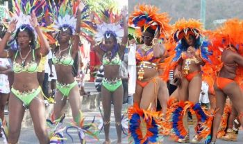 Left: 2016 VG Easter Parade; Right: 2016 Festival Parade in Road Town. The Permanent Secretary in the Ministry of Education and Culture Dr Marcia Potter told Law Makers that the Virgin Islands Festival Committee caused the Ministry much concern. Dr Potter said currently five festivals are held within the territory and the amount allocated each year is never adequate to cover all the celebrations. She added that there is a need for a serious discussion and policy decisions to ensure that the Festival and Fairs Committee does not end up with outstanding bills which can be 'embarrassing for both the Ministry and the territory.' Photo: VINO/File