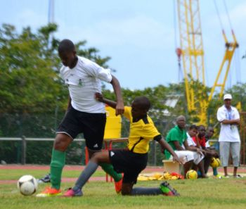 Action from a past game in St Maarten. Photo: Provided