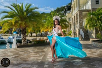 Ms Sharie B.Y. de Castro, 22, won the prestigious Miss BVI title in August 2012 before going on to represent the Virgin Islands in the Miss Caribbean World and Miss Carival pageants. Photo: Provided