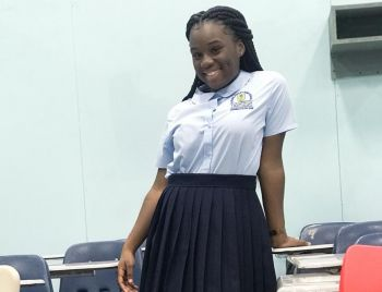 "Ms Jessi C. A. Wheatley is currently a student preparing to write CXC's and other examinations, ""I'm currently an 11th grade student at the Elmore Stoutt High School,"" Photo: Provided"