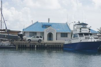 Police had assisted the Immigration Department with the detention of the 18 illegal immigrants after Police apprehended them on Marina Cay, just northeast of Tortola, on April 28, 2016. Photo: VINO/File